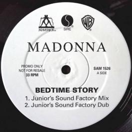 Madonna - Bedtime Story - Maverick - SAM 1526, Sire - SAM 1526, Warner Bros. Records - SAM 1526