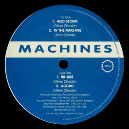 Machines - Acid Storm - Industrial Strength Records - IS016
