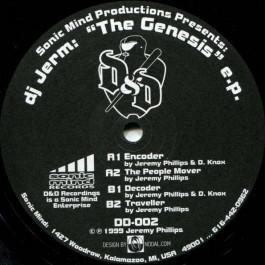 DJ Jerm - The Genesis EP - D & D Records - DD-002