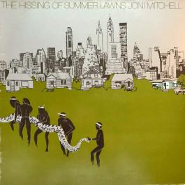 Joni Mitchell - The Hissing Of Summer Lawns - Asylum Records - 7E-1051