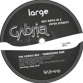 Roy Davis Jr. & Peven Everett - Gabriel - Large Records - LAR-019WHITE