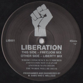 Liberation - Liberation - Not On Label - LIB001