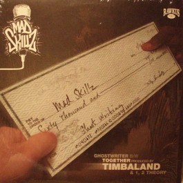 Mad Skillz - Ghost Writer / Together / 1, 2 Theory - Rawkus - RWK 225, Eastern Conference - none