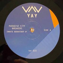 Paradise City Breakers - Innate Behaviour EP - Yay Recordings - YAY015
