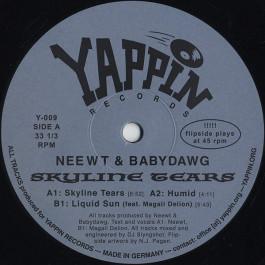Neewt & Babydawg - Skyline Tears - YAPPIN - Y-009