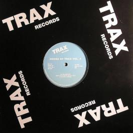 Blackman / Maurice Joshua With Hula - House Of Trax Vol. 4 - Rush Hour - RH-TX 4, Trax Records - RH-TX 4