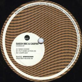 Sasch BBC , Caspar - Cookie EP - 8bit Records - 8bit032