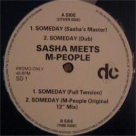 Sasha Meets M People - Someday - Deconstruction - SD 1