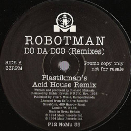Robotman - Do Da Doo (Remixes) - NovaMute - P12 NoMu 35