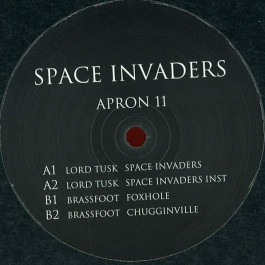 Lord Tusk & Brassfoot - Space Invaders - Apron Records - APRON 11