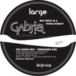 Roy Davis Jr. - Gabrielle - Large Records - LAR-019