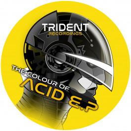 Derek Carr - The Colour of Acid EP - Trident Recordings - TRECS004