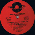 Various - House With More Music - Volume 1 - More Music Records - MM-010