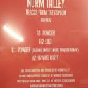 Norm Talley - Tracks From The Asylum - Upstairs Asylum Recordings - UAR 002