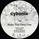 Cybonix - Make This Party Live - Frustrated Funk - FR004R