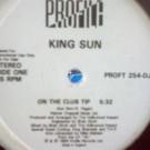King Sun - On The Club Tip - Profile Records - PROFT 254-DJ
