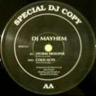 DJ Mayhem - Storm Trooper / Cold Acid - Basement Records - BRSS 016