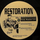 Various - First Mission E.P. - Restoration Records - RST-001