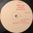Drumfish - Papa '90 / Spirit - Kaz Records - KAZT 90