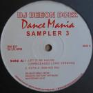 DJ Deeon - Doez Dance Mania Sampler 3 - Dance Mania - DM 307
