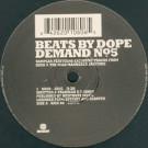 Kush / Mild Mannered Janitors - Beats By Dope Demand No. 5 - Kickin Records - KICK 80