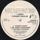4 Hero - Combat Dancin' - Reinforced Records - RIVET 1202