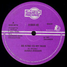 Donna Rhoden / Leonard Santic All Stars - Be Kind To My Man / Rock Easy - Santic Records - SAN 0016