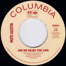 Patti Austin - Are We Ready For Love / Didn't Say A Word - Expansion - EXS007