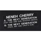 Neneh Cherry - The Next Generation - Circa - NENEH 1