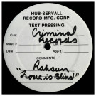 Rahsun - Love Is Blind - Criminal Records - CR12-034