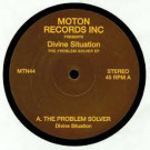 Divine Situation - The Problem Solver EP - Moton Records Inc. - MTN44