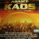 Adam F - Kaos: The Anti-Acoustic Warfare - EMI - 7243 5 34250 1