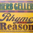 Herb Geller Featuring Mark Murphy & Earl Jordan - Rhyme And Reason - Atlantic - SD 1681