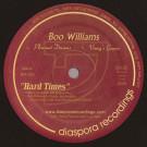 Boo Williams - Hard Times - Diaspora Recordings - DIA003