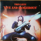 Thin Lizzy - Live And Dangerous - Vertigo - 6641 807