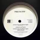 Free Blood - Never Hear Surf Music Again - Rong Music - RONGDFA01, DFA - RONGDFA01