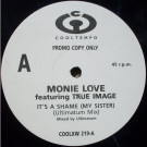Monie Love Featuring True Image - It's A Shame (My Sister) - Cooltempo - COOLXW 219