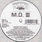 MD III - Shake That Body - Underground - UN 138