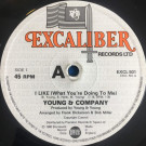 Young & Company - I Like (What You're Doing To Me) - Excaliber Records Ltd. - EXCL 501