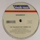 Shannon - Let The Music Play (Remix) - Emergency Records - SPEC-1609, Unidisc - SPEC-1609