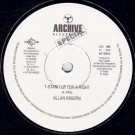 Alan King Pin - Stand Up For A Right - Archive Recordings - AR-720610