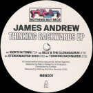 James Andrew - Thinking Backwards EP - Nothing But Nice Records - NBN001