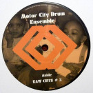 Motor City Drum Ensemble - Raw Cuts # 3 / Raw Cuts # 4 - MCDE - MCDE 1202