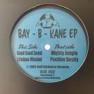 Bay B Kane - Bay-B-Kane EP - Ruff Guidance Records - RGR 002