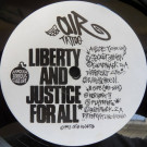 Air Tattoo - Liberty And Justice For All - Crib Records - CRIB 005