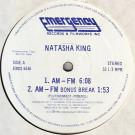 Natasha King - AM-FM - Emergency Records - EMDS 6536