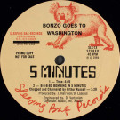 Bonzo Goes To Washington - 5 Minutes - Sleeping Bag Records - SLX-13, Sleeping Bag Records - SLX 666-13