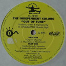 Independent Colors, The - Out Of Tune - Tadpole Records - TD 001