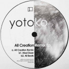Yotoko - All Creation Remix EP - Delsin - 39 dsr/ytk2