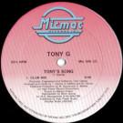 Tony Garcia - Tony's Song - Micmac Records, Inc. - Mic 506